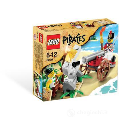 LEGO Pirati - Battaglia a colpi di cannone (6239)