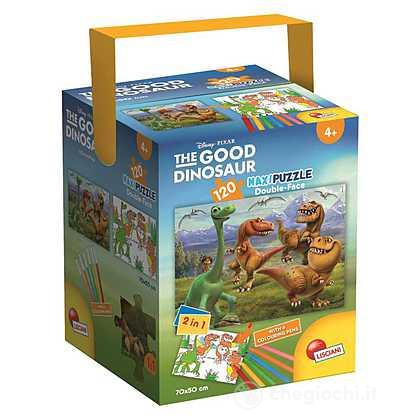 Puzzle In A Tub Maxi 120 Good Dinosaur