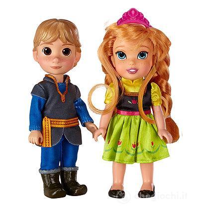 Frozen Anna e Kristoff Minidoll
