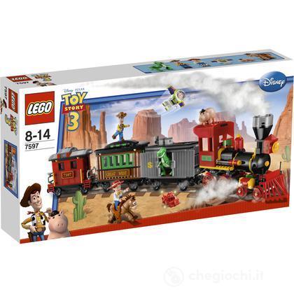 LEGO Toy Story - Inseguimento ferroviario (7597)