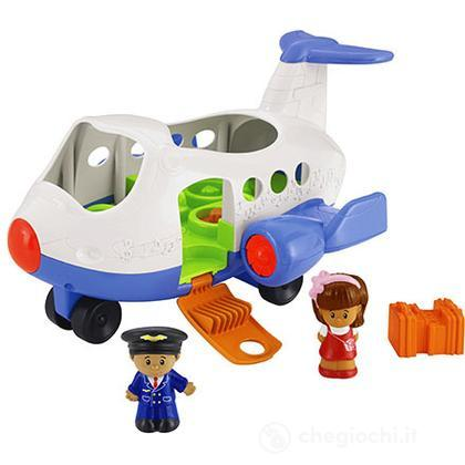 L'Aeroplano - Grandi Veicoli Little People (BJT57) (BJT57)
