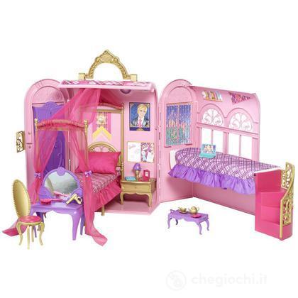 Camera delle principesse v6823 casa delle bambole e - Letto delle principesse ...