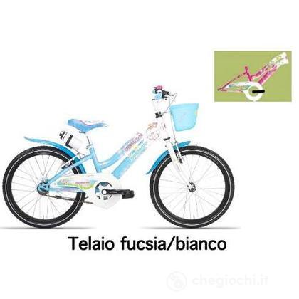 "Bici 20"" Akira Sky fucsia/white"