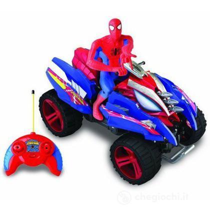 Spider man sense quad r c lancia missili radiocomandati - Quad spiderman ...
