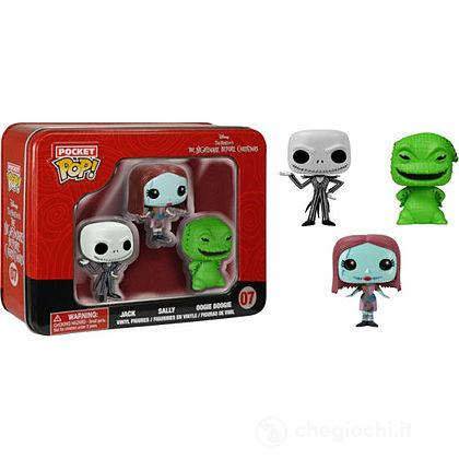 Nightmare Before Christmas - Confezione 3 Personaggi Jack, Sally, Bau Bau (5314)