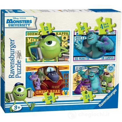Monsters 4 puzzle in 1