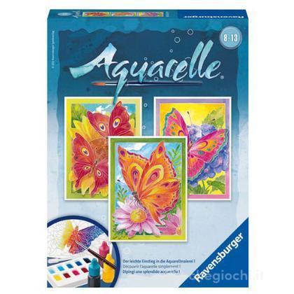 Aquarelle midi - farfalle (29316)
