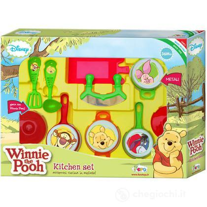 Set tegami metallo grande Winnie the Pooh (5316)
