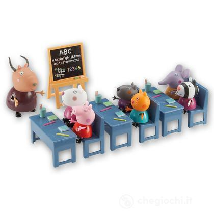 Peppa Pig - Tutti In Classe con 7 Personaggi (CCP04432)