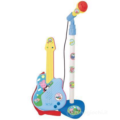 Chitarra con microfono Peppa Pig