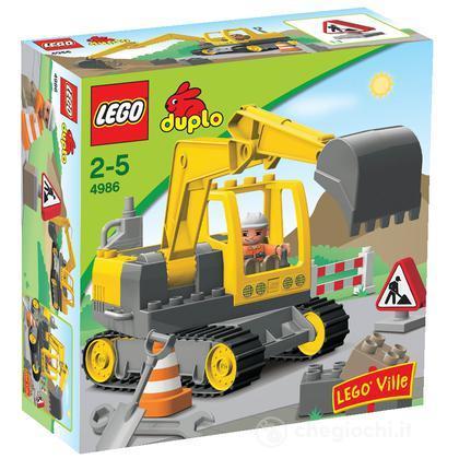 LEGO Duplo - Scavatrice (4986)