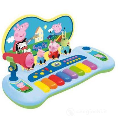 Pianola con microfono Peppa Pig