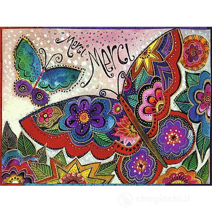 Laurel Burch: Farfalle colorate