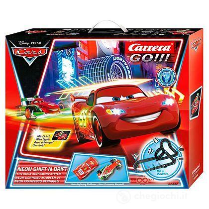 Pista Cars Neon Shift 'n drift