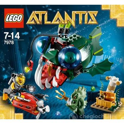 LEGO Atlantis - L'attacco della Rana Pescatrice (7978)