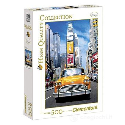 Taxi in Time Square 500 pezzi High Quality Collection (30338)