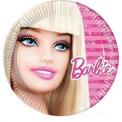 Piattini Barbie 10 pezzi (5339)