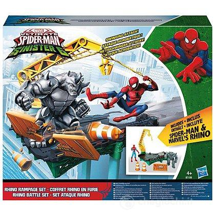 Set Spider-Man Web City Rhino Playset (B7199EU4)