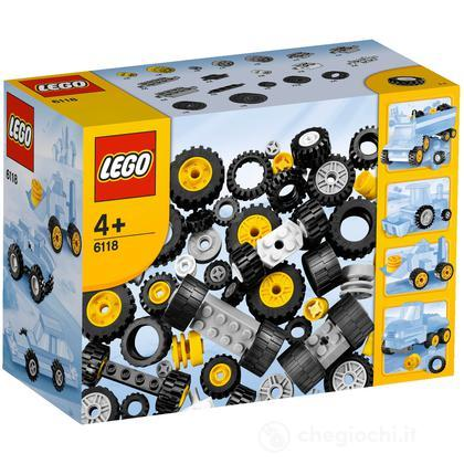 LEGO Mattoncini - Ruote e pneumatici Lego (6118)