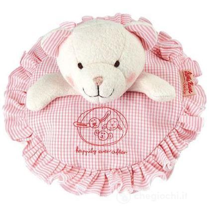 Cuscino orsetto Lolla rosa (74356)