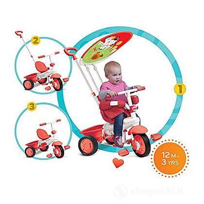 Triciclo 3 in 1 Classic Plus Rosso