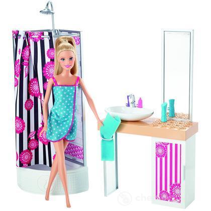 Bagno - Barbie e i suoi Arredamenti (CFB61)