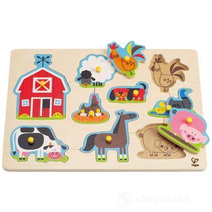 """Puzzle """"Gli animali della fattoria"""" (E1402)"""
