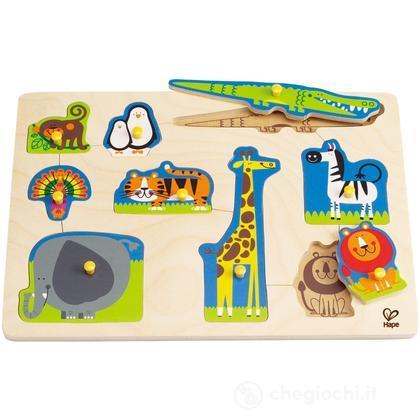 """Puzzle """"Animali feroci"""" (E1403)"""