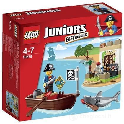 La caccia al tesoro dei pirati - Lego Juniors (10679)