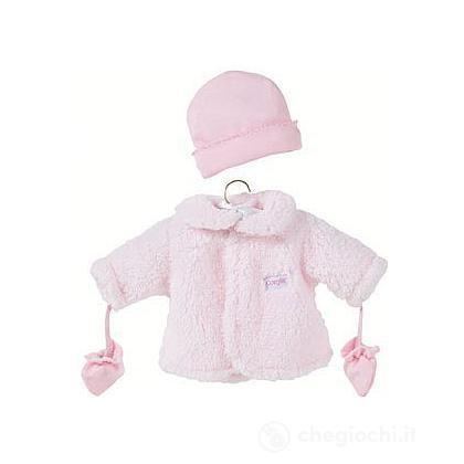 Cappotto rosa grande