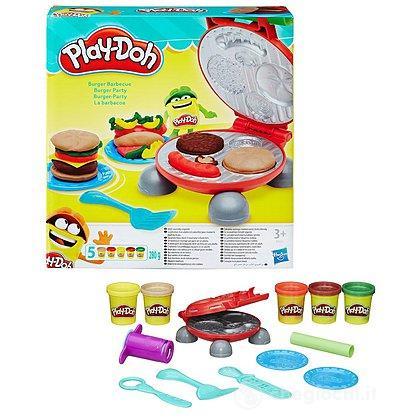Playdoh Burger Set