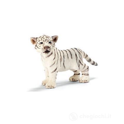 Tigre cucciolo bianco in piedi (14384)