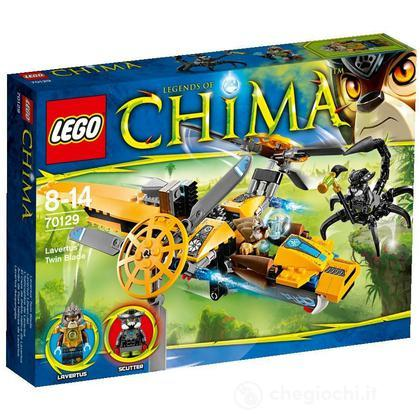 L'aereo Bi-elica di Laval - Lego Legends of Chima (70129)