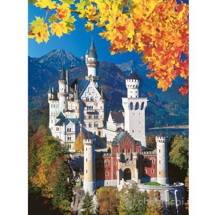 Neuschwanstein in autunno