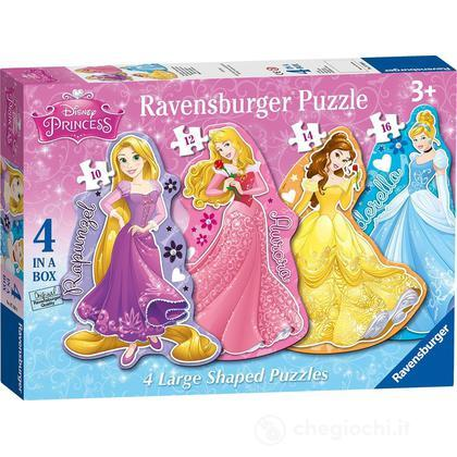 Principesse Disney 4 Shaped