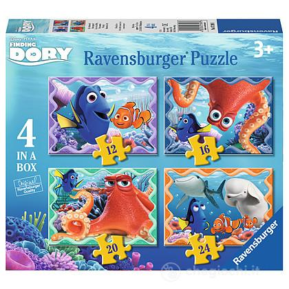 Puzzle 4 in a box Finding Dory (07399)