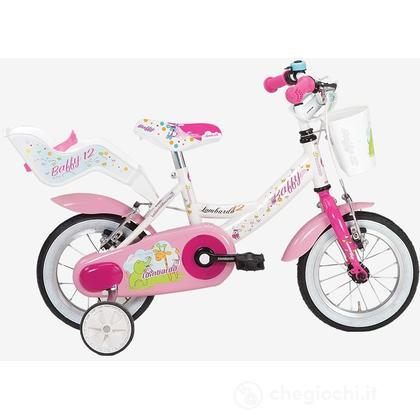 """Bici 12"""" Baffy Pink"""