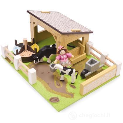 Stalla (2 mucche e personaggio inclusi) (TV402)