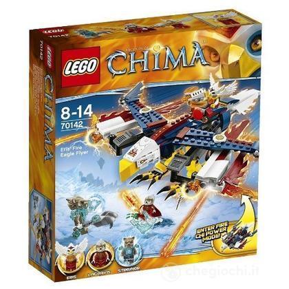 Aeroaquila di fuoco di Eris - Lego Legends of Chima (70142)
