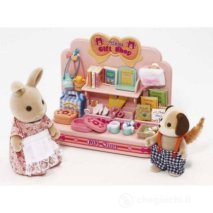 Mini-negozio con 2 personaggi