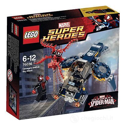 Carnage e l'attacco aereo SHIELD - Lego Super Heroes (76036)