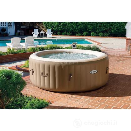 Piscina Pure Spa Bubble Therapy 1,91X0,71cm Con Pompa, Riscaldatore e Sistema Purificazione Acqua (28404)