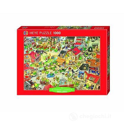 Puzzle 1000 Pezzi - Città dei Draghi