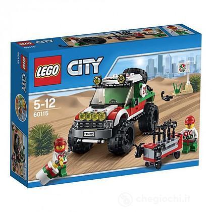Fuoristrada 4 x 4 - Lego City Great Vehicles (60115)