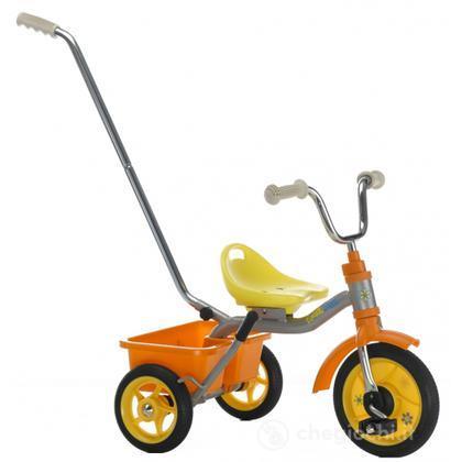 Triciclo 10 Touring passenger flower power - Arancio