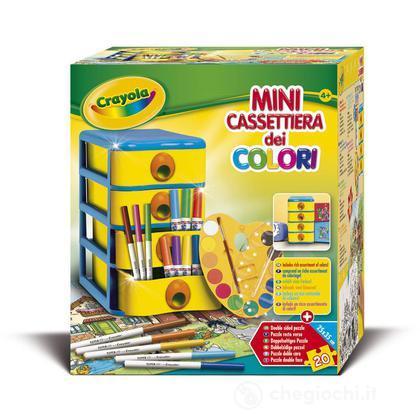 Mini cassettiera dei colori
