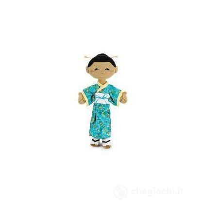 Bambola Pezza Giapponese Kaori grande