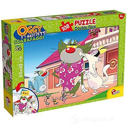 Puzzle doubleface Plus 108 Oggy e i Maledetti Scarafaggi