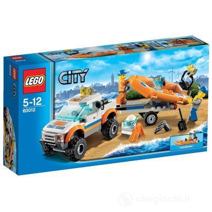 Fuoristrada e gommone di salvataggio - Lego City (60012)