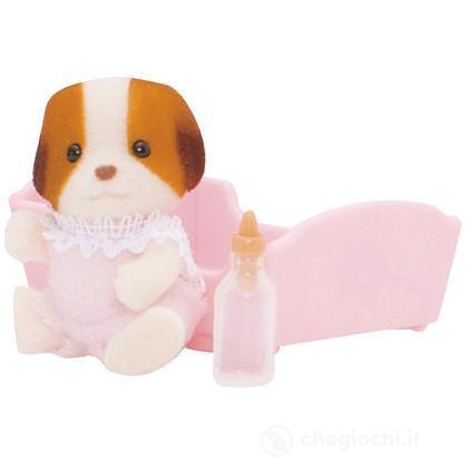 Cane bebè chiffon con accessori (3416)